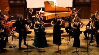 Vivaldi Concerto for Four Violins. Dmitry Sitkovetsky, Elizabeth Basoff-Darskaia
