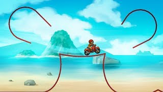 Bike Race Free Top Motorcycle Racing Games / Android Ios Gameplay / Hills / Beach Stages