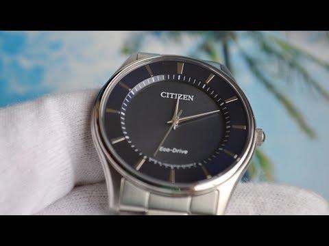 Обзор Citizen BJ6480-51L eco drive модель 2017 года
