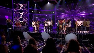 The X Factor UK 2015 S12E13 Judges' Houses The Groups' Results Finalists Announced