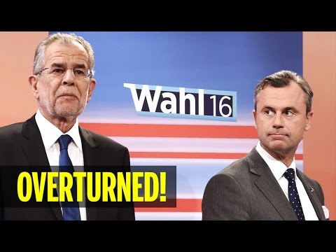 Austrian Presidential Election Results Overturned Due to Absentee Ballot Irregularities (REACTION)