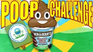 $30K Poop Nutrition Challenge! | Sponsored By Ben & Jerry's