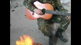 Костёр, гитара и объект...