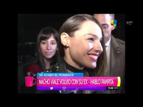 Qué dijo Pampita de las fotos de Nacho Viale junto a su ex novia en Miami