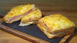 Receta Croque Monsieur (Delicioso sándwich cremoso y extracrujiente) - Recetas de cocina