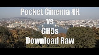 Blackmagic Pocket Cinema Camera 4k Vs Gh5s Youtube