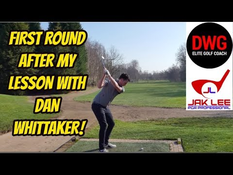 MY FIRST ROUND AFTER MY LESSON WITH DAN WHITTAKER!