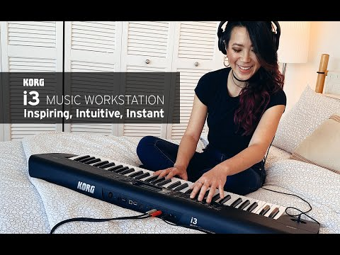 Korg i3: Inspiring, Intuitive, Instant