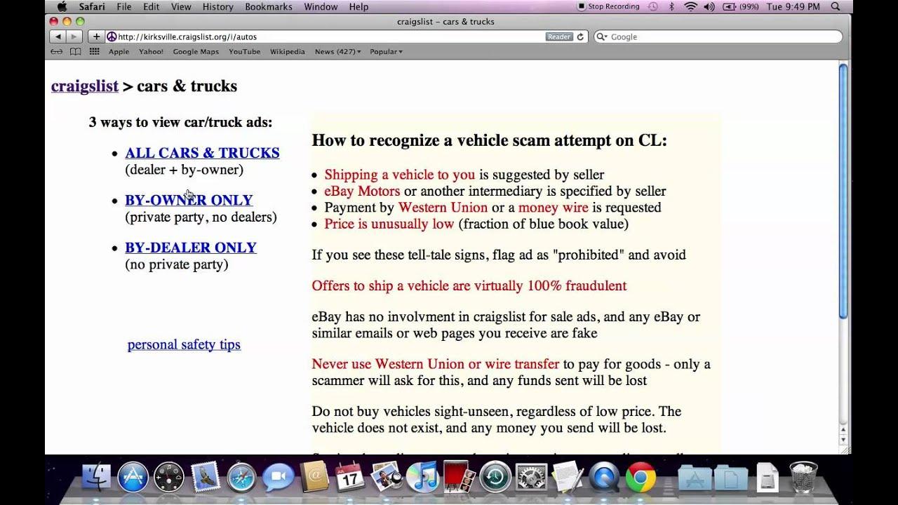 craigslist kirksville missouri used cars and trucks