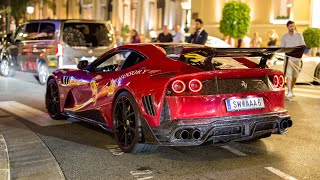 The EPIC Monaco Supercar Nightlife 2019 #7 (Mansory 812, N-Largo 812, Chiron, 918 Spyder, F12 TDF)