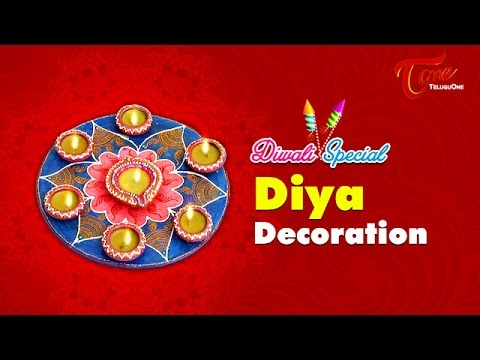 diwali special diya decoration creative corner youtube
