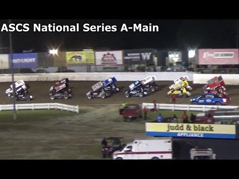 Skagit Speedway, Dirt Cup 2017, Night 1, ASCS National Series A-Main