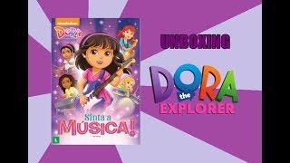 DVD Dora e Seus Amigos: Sinta A Música! - UNBOXING