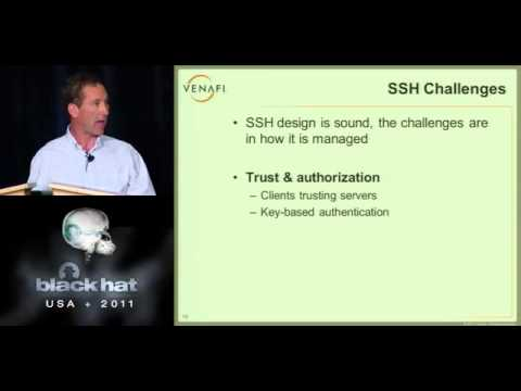 BlackHat 2011 - SSH as the next back door: Are you giving hackers root access?