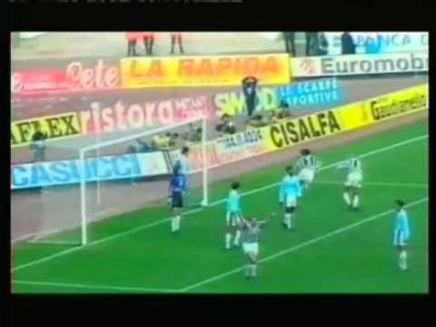 Goal di Fortunato contro la Lazio