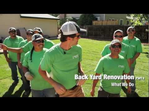 Backyard Renovation, Part 2 - Green Valley Turf Co.