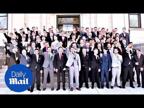 Teen from 'Nazi salute' photo says 'It's not what we meant'