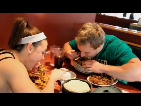 Big Eats At Mongolian Grill with IFBB Fitness Pro Jodi Boam