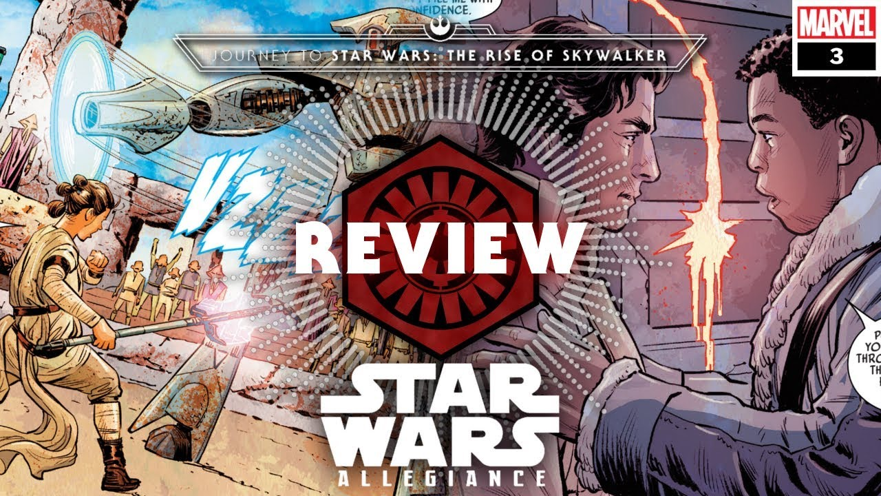 Star Wars Allegiance Part Iii Journey To Star Wars The Rise Of Skywalker La Tribune De Coruscant Youtube