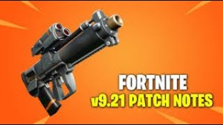 Fortnite 9.21 patch notes