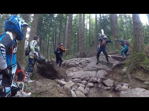 ENDURO TECHNIQUES FOR ROCKS & ROCK FACES: vlog #134