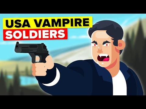 US Soldiers Use Vampires To Terrify Enemies