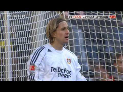 Saison 07/08 BVB - Leverkusen 2-1 Siegtor Dede.avi