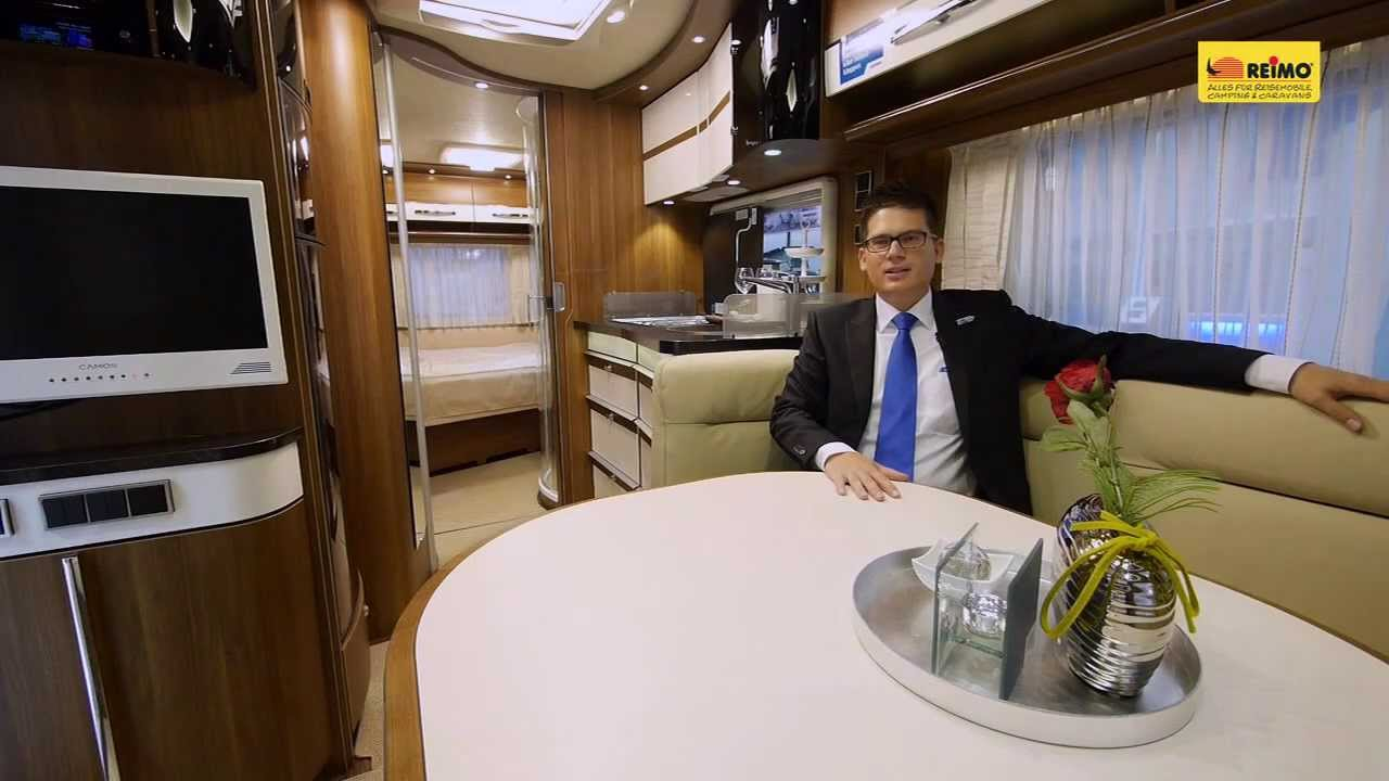 luxus wohnwagen hymer eriba nova s 590 youtube. Black Bedroom Furniture Sets. Home Design Ideas
