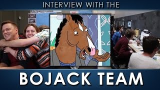 Interview with the BoJack Horseman Creative Team!