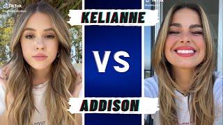 Addison Rae Vs Kelianne Stankus ~ TikTok Dance Battle