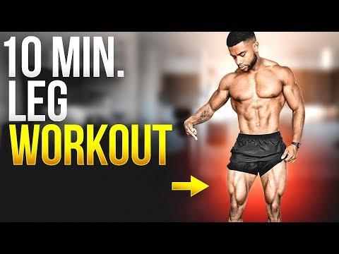 10 Min. Home Leg Workout - Follow Along