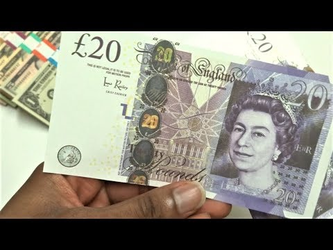 Realistic UK Prop Money £2,000 In £20 Notes From AliExpress