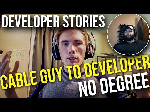 From Cable Guy to Python Developer, with NO DEGREE - Developer Stories #grindreel #monday