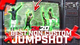 THESE ARE THE BEST NON CUSTOM JUMPSHOTS IN NBA 2K20, NO JUMPSHOT CREATOR NEEDED! ALL GREENS!