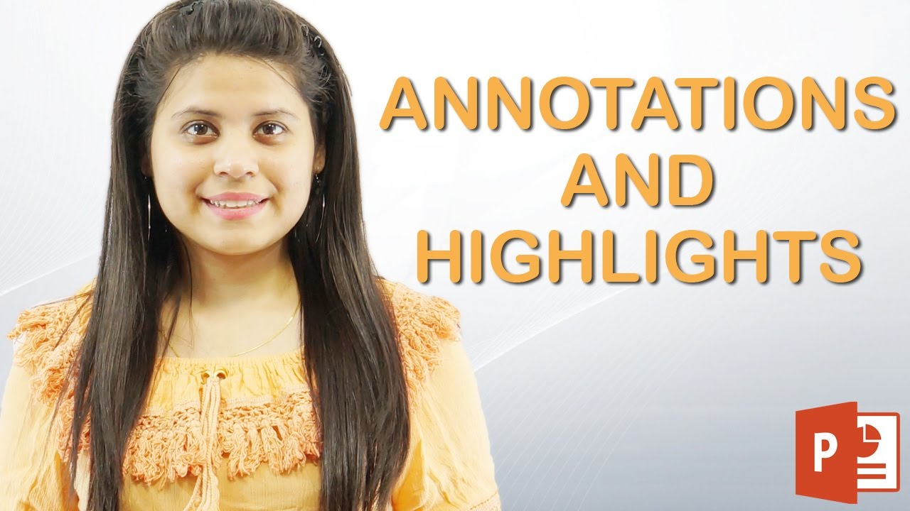 How To Use Annotations & Highlight Text In Powerpoint  Chapter 9  Video 3