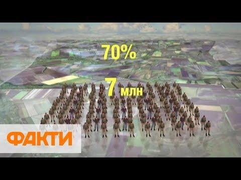 Украинские селяне могут