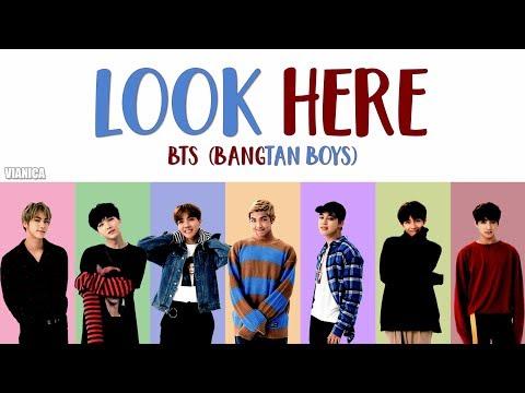 BTS (방탄소년단) - 'LOOK HERE (여기 봐)' LYRICS (Color Coded Han/Rom/Eng)