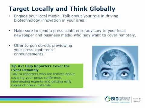 How to Gain Media Exposure at BIO 2013, March 5 Webinar