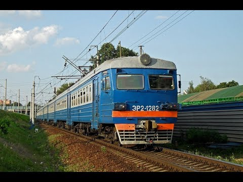 Trainz 12: ЭР2-1282 Рейс: Кресты - Калуга-1 - Сухиничи-Главные.