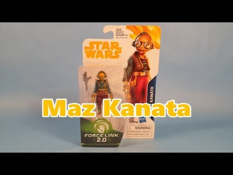 Star Wars Force Link 2.0 Maz Kanata