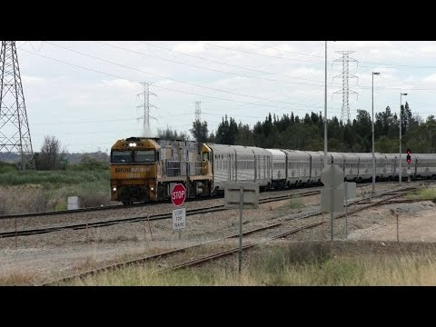 Great Southern Railway Passenger Trains in Adelaide