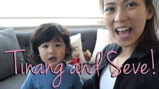 Tinang and Seve's playtime by Alex Gonzaga