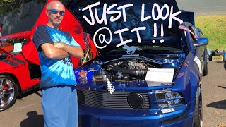 LOOK AT THIS CAR SHOW VLOG!!!!