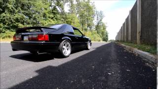 Turbocharged Mustang short rev and pull away