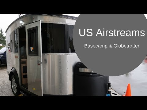 USA spec Airstreams at Airstream Adventures NW, Seattle - Part 1