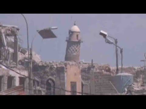 ISIS destroys historic Mosul mosque, Al-Nuri