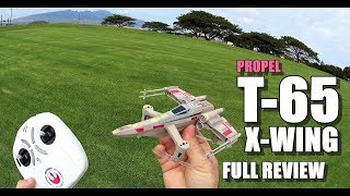 PROPEL STAR WARS T 65 X WING BATTLE DRONE REVIEW & Unboxing