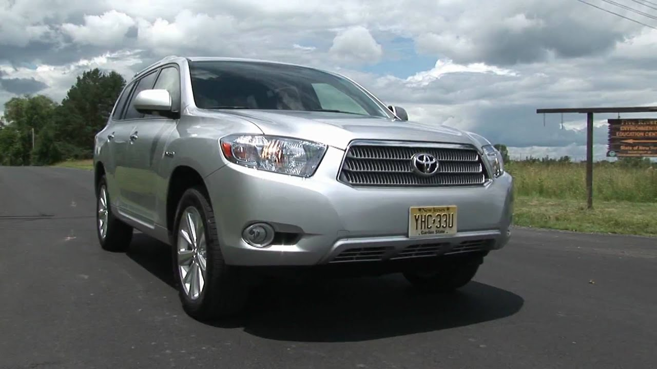 2009 toyota highlander hybrid limited youtube. Black Bedroom Furniture Sets. Home Design Ideas