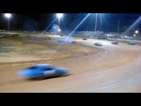 Stock 4 Main the rest of the race Harris speedway 5/28/16