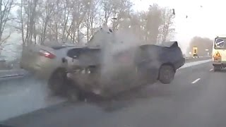 Fatal car crashes in Russia  autumn 2016